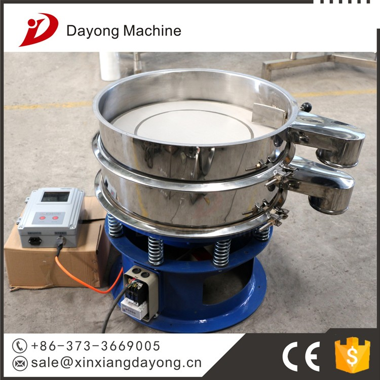 ultrasonic vibrating rotary sifter Creatine magnesium processing and sieving