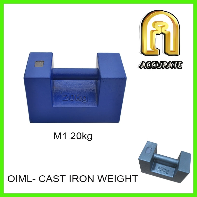20kg blue cast iron weight set