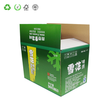 Hot Selling Professional Foldable Snow Beer Cardboard Boxes