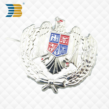 silver eagle custom badge