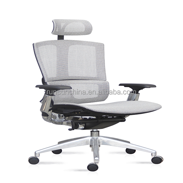 888A adjustable sex chair wheels / office chair with footrest