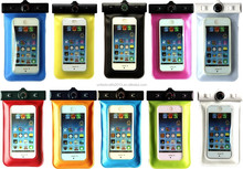 2015 hot selling Universal Water Proof PVC smartphone mobile phone cases waterproof bag/pouch