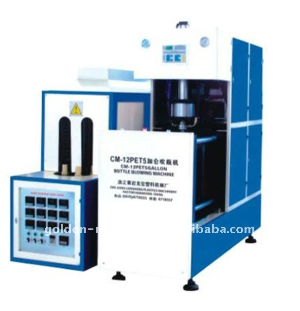 Semiautomatic bottle blowing machine