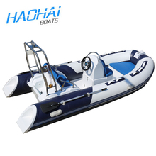 CE 3.9m fiberglass hypalon inflatable boats