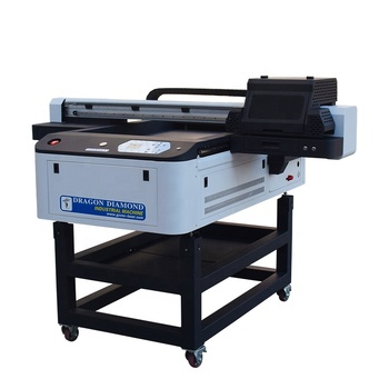 Inkjet UV Flatbed Printer 600mm*900mm A1 A2 A3 A4 A5 sinkable platform printers Automatic for Flatbed printing machines