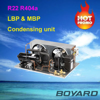 refrigerator parts condensing unit R404A for Ice Cream Fridge Commercial Deep Freezer Mini Freezer