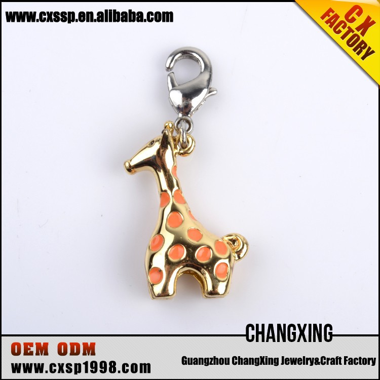 Christmas Gift alloy Santa Deer Charms