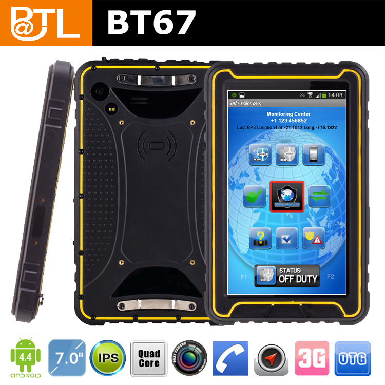 EZ0196 BATL BT67 famous brand camera GPS Glonass tough china tablet pc factory