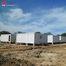 20 portable temporary container building for Egypt, container office building