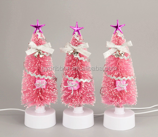 Metallic Butterfly BOW Decoratived Christmas Fibre Optic Decorations Christmas top decoration