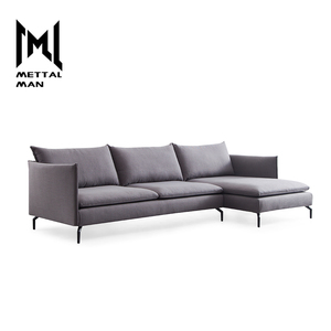living room modern furniture couch gray fabric color combinations large sofa set for living room L shaped sofa
