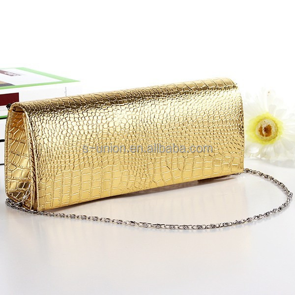 New style latest ladies party clutch purse