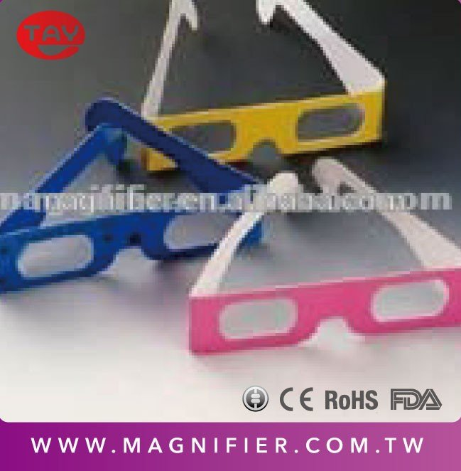 Chromadepth 3D CARDBOARD FIREWORK DIFFRACTION GLASSES