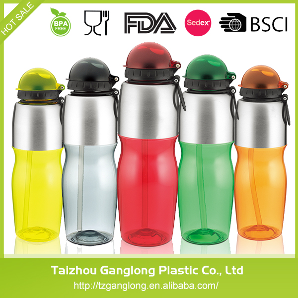 High Quality 650ml 800ml Cheap Plastic Sport Water Bottle