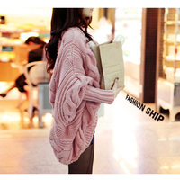 Wholesale free size spring and autumn wear 5colors choice elegant causal loose shawl knitting cardigan