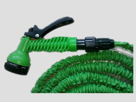 50ft Expandable Garden Hose With Brass Connector Spray Nozzle Buy 50ft Garden Hose Brass