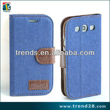 stand wallet leather flip case for samsung galaxy s3