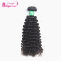 Large Stock Top Quality Peruvian Deep Curly Hair Bundles Grade 9a Virgin Human Hair Weaving Can Be Dyed Can Be Iroed