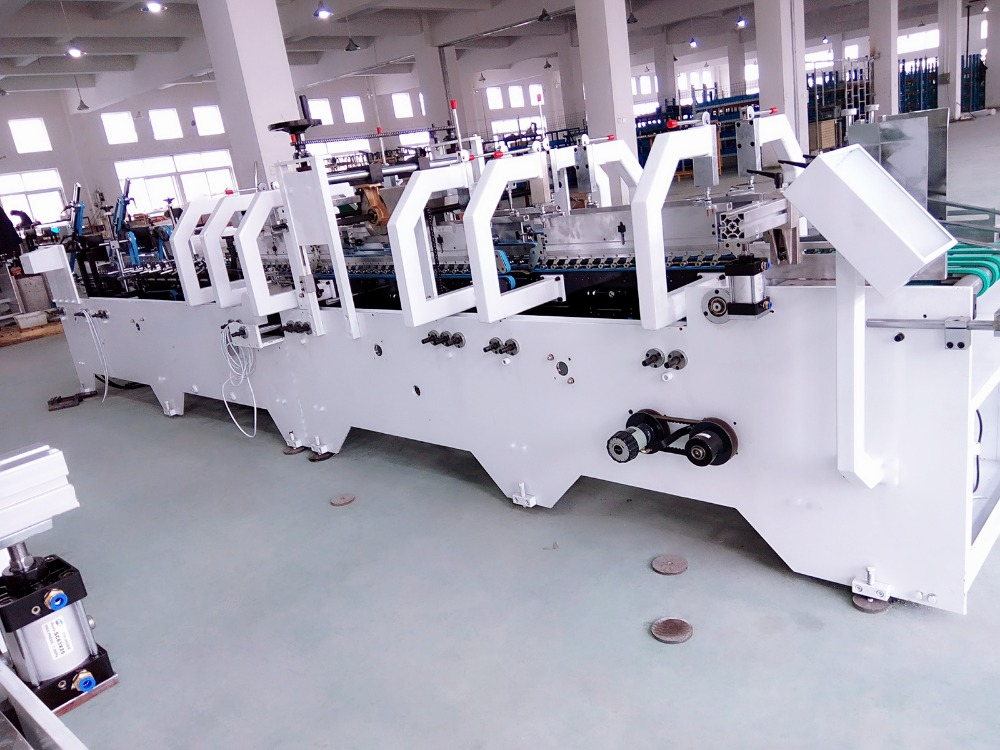 GK-780CA Multifunctional Automatic Folder Gluer Machine Of High Speed pop corn machine