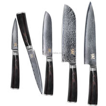 High Level Best quality Forged Damascus Knife Sets