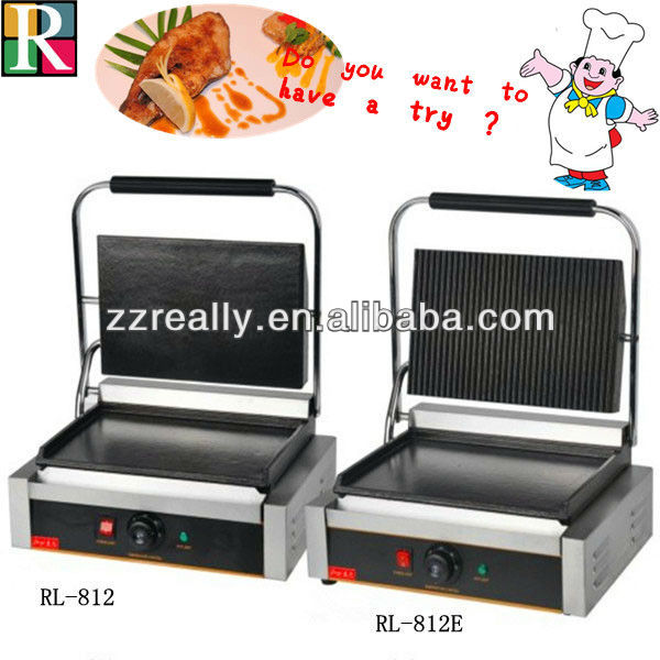 OEM professional manufacture ce single electric contact grill toaster