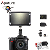 Aputure Amaran CRI95+ 5500K LED Video Light Dimmable Flat Panel On-camera Light Pad for Canon Nikon Pentax Olympus Sam