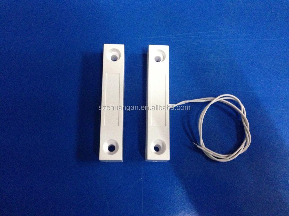 Metal door use no nc surface mount wired iron door for 12v magnetic door switch