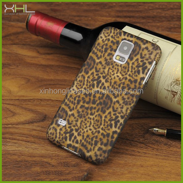 sexy leopard case for samsung galaxy s5 i9600 , for samsung galaxy s5 cover