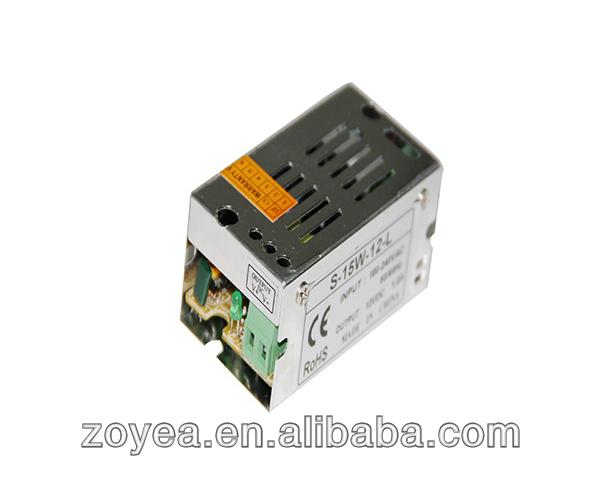 36w 12v 3a 110v/220v full range voltage AC -DC electrical led power supply transformer CE RoHs approved