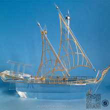 crystal dhow, crystal gifts