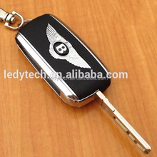 Bentley key 3 button remote flip car key case for CONTINENTAL GTC SUPERSPORT