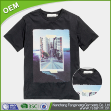 New design Cheap western custom photo printing t shirt for men Factory