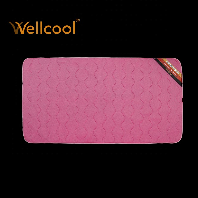 New foldable quick dry pink sleeping mat 3d mesh mattress topper for home and dormitory - Jozy Mattress | Jozy.net