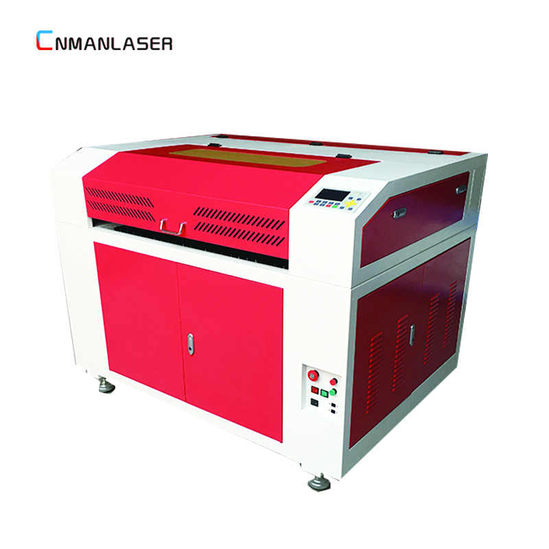 Most popular 9060 laser cutting and engraving machine for baseball bat on metal shoe design