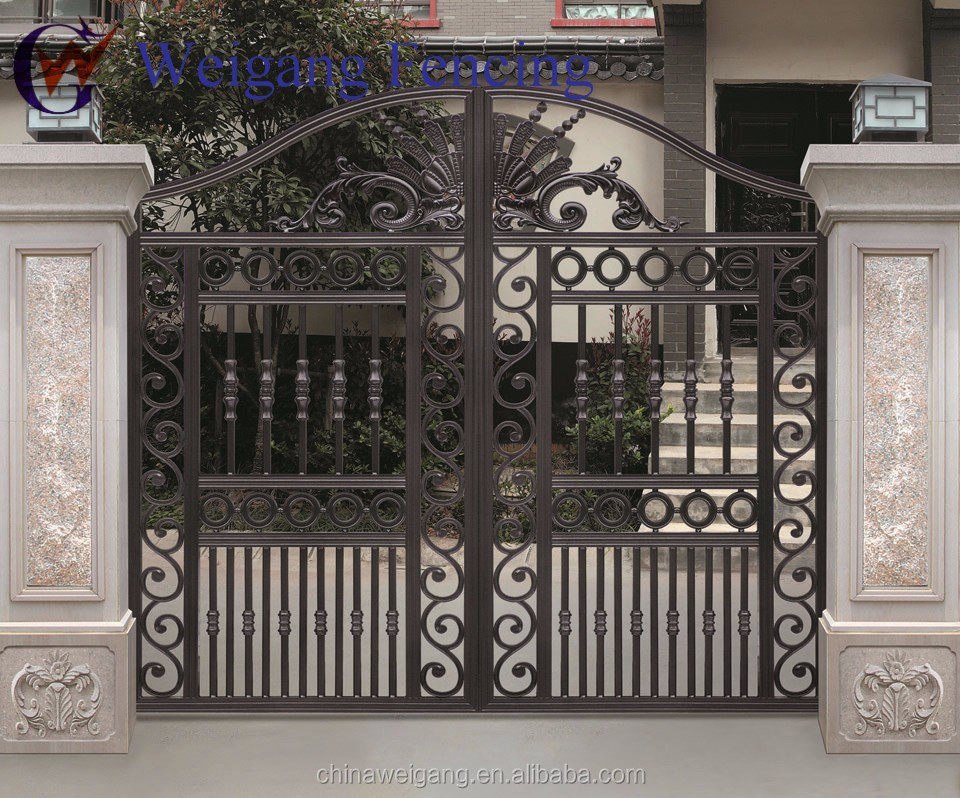 Awesome iron gate design for home images decoration Metal gate designs images
