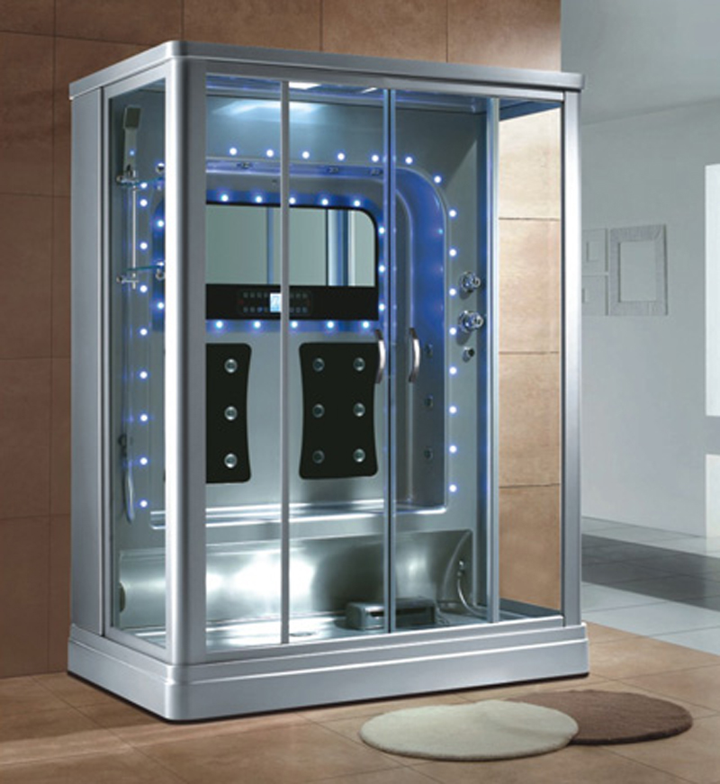 HS-SR087 luxurious steam shower enclosure home personal steam cabinet