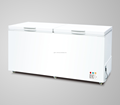 New type double top open door chest freezer 650L