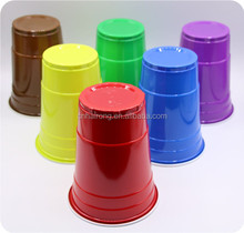 Reusable high quality Advertising Logo custom printed plastic cup,plastic drinking cup
