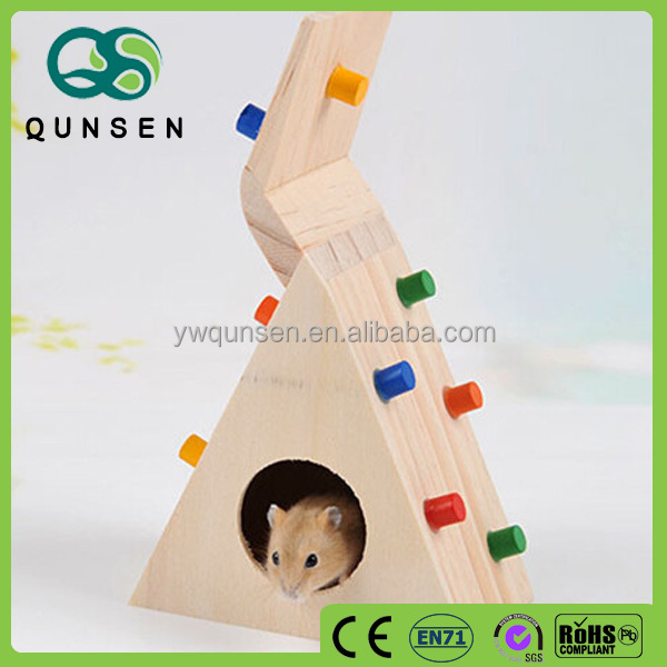 ceramic small toy hamster house miniature wooden pet house