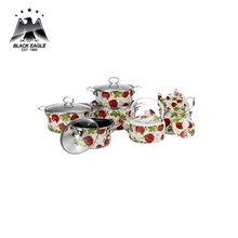 Japanese customized porcelain enamel cookware