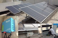 2kw home solar power system solar fan & lighting system solar lighting system for indoor