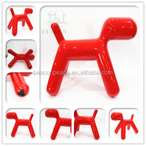 Replica Eero Aarnio cute lovely animal shape childrens fiberglass puppy chairs
