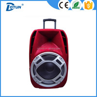12 inch wireless portable pa system speaker with amplifier