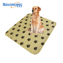 Washable Dog Application Training Urine Absorbent Pet Pad Puppy Pee Pad for Travel