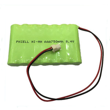 Shenzhen ni mh rechargeable battery pack 8.4v aaa 750mah rechargeable cell on sale china alibaba