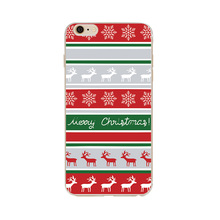 Christmas xmas TPU PC case cover for iphone6 7 christmas phone case