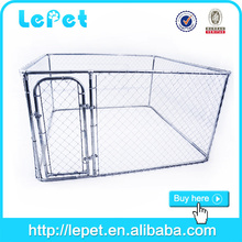 low price low MOQS chain link rolling portable fences cage for dog