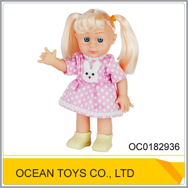 Christmas gift fashion silicone baby 8 inch doll mold for kids OC0182936