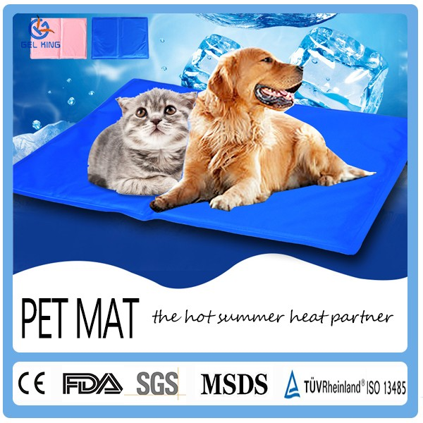Best king size bed pets supply dog kennel wholesale summer dog cooling pad easy cleaning pet mat
