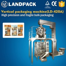Hemp seed/peanut packaging machine, potato chip packing machinery